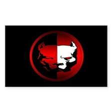 American Pit Bull Oval Decal