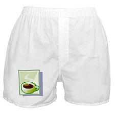 Art Deco Coffee Boxer Shorts