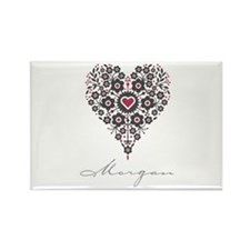 Love Morgan Rectangle Magnet (100 pack)