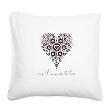 Love Nanette Square Canvas Pillow