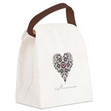 Love Nannie Canvas Lunch Bag