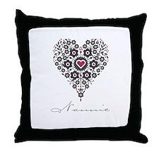 Love Nannie Throw Pillow