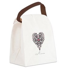Love Nina Canvas Lunch Bag