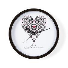 Love Nina Wall Clock