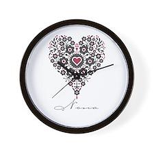 Love Nona Wall Clock