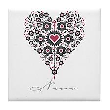 Love Nona Tile Coaster
