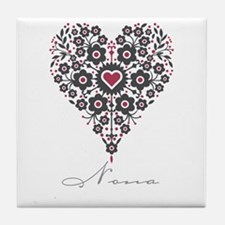 Love Nona Tile Coaster