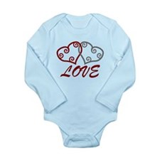 Love Hearts Body Suit