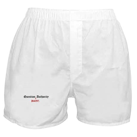 Question Bradyn Authority Boxer Shorts