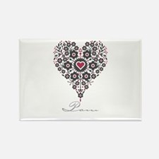 Love Pam Rectangle Magnet