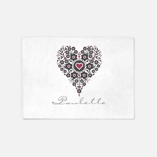 Love Paulette 5'x7'Area Rug