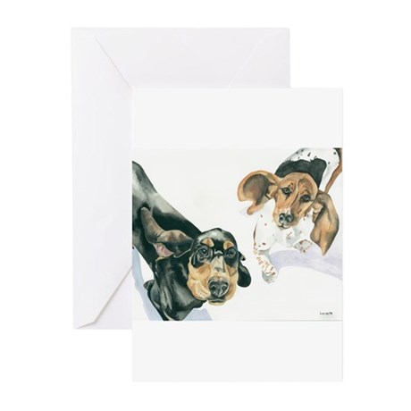 Lily and Twinkie Greeting Cards (Pk of 10)