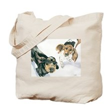 Lily and Twinkie Tote Bag