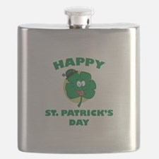 Happy St. Patrick's Day Flask