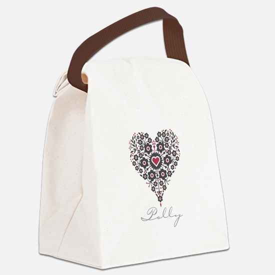 Love Polly Canvas Lunch Bag