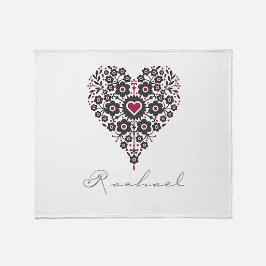 Love Rachael Throw Blanket