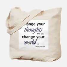 Change Your Thoughts Tote Bag