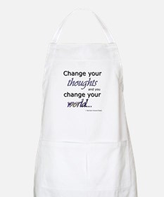 Change Your Thoughts Apron