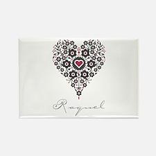 Love Raquel Rectangle Magnet