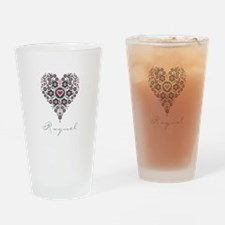 Love Raquel Drinking Glass