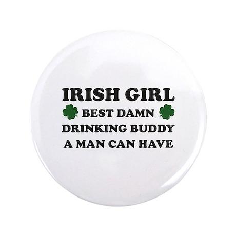 """Irish Girl 3.5"""" Button (100 pack)"""