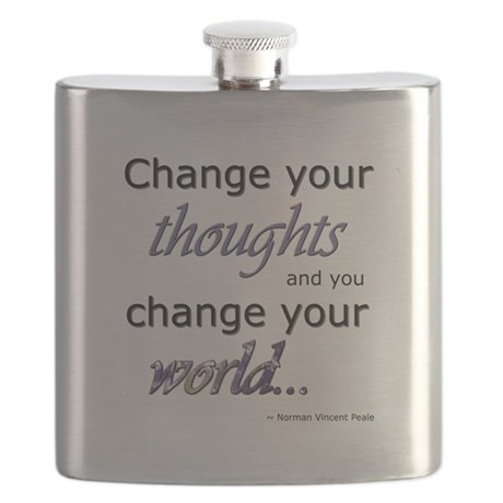 Change Your Thoughts Flask
