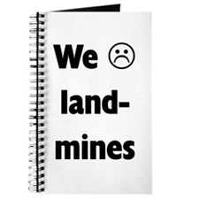 We :( land mines Journal