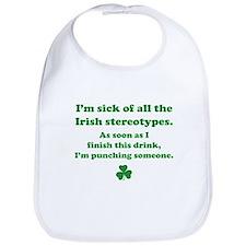 Irish stereotypes Bib