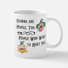 Clown are People Too Mug