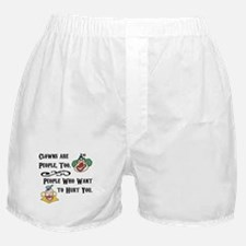 Clown are People Too Boxer Shorts