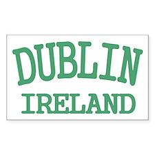 Dublin Ireland Decal