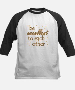 Be Excellent Kids Baseball Jersey