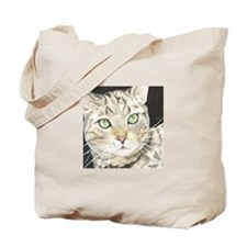Emerald Eyes Tote Bag