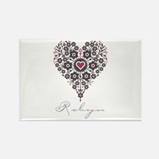 Love Robyn Rectangle Magnet