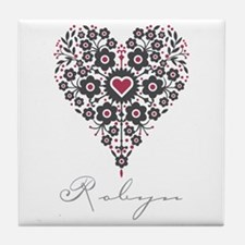 Love Robyn Tile Coaster