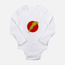 Flash Bolt Superhero Body Suit