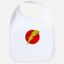 Flash Bolt Superhero Bib
