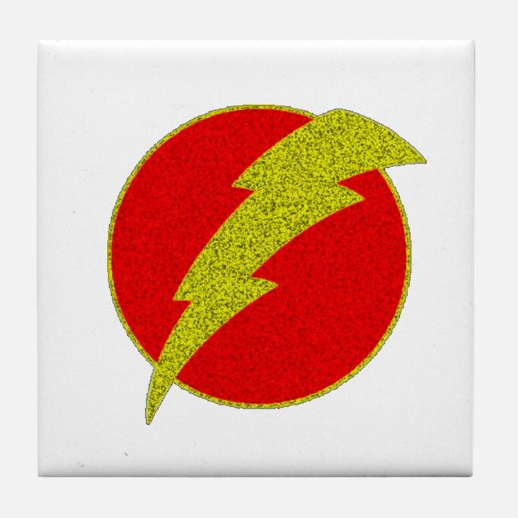 Flash Bolt Superhero Tile Coaster