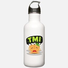 Emoji Peach TMI Water Bottle