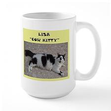 Lisa cow kitty Mug