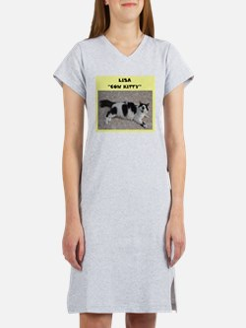 Lisa cow kitty Women's Nightshirt