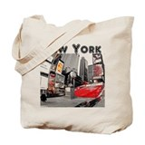 New york skyline tote bag Canvas Totes
