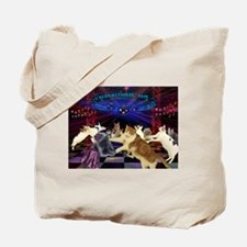 Disco Poppy Tote Bag