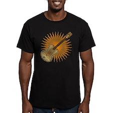 Wavy sunburst orange T-Shirt