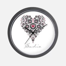 Love Sadie Wall Clock