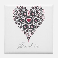Love Sadie Tile Coaster