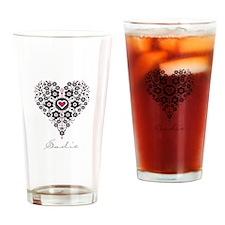 Love Sadie Drinking Glass