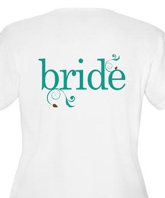 Personalized Bridesmaid (butterflies) T-Shirt