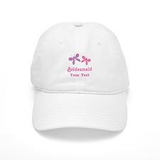Personalized Bridesmaid (butterflies) Cap
