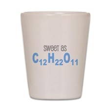 Sweet as Sugar Chemistry Shot Glass